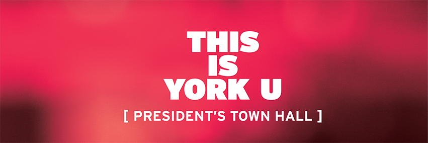 President's Town Hall: A State of the University Address