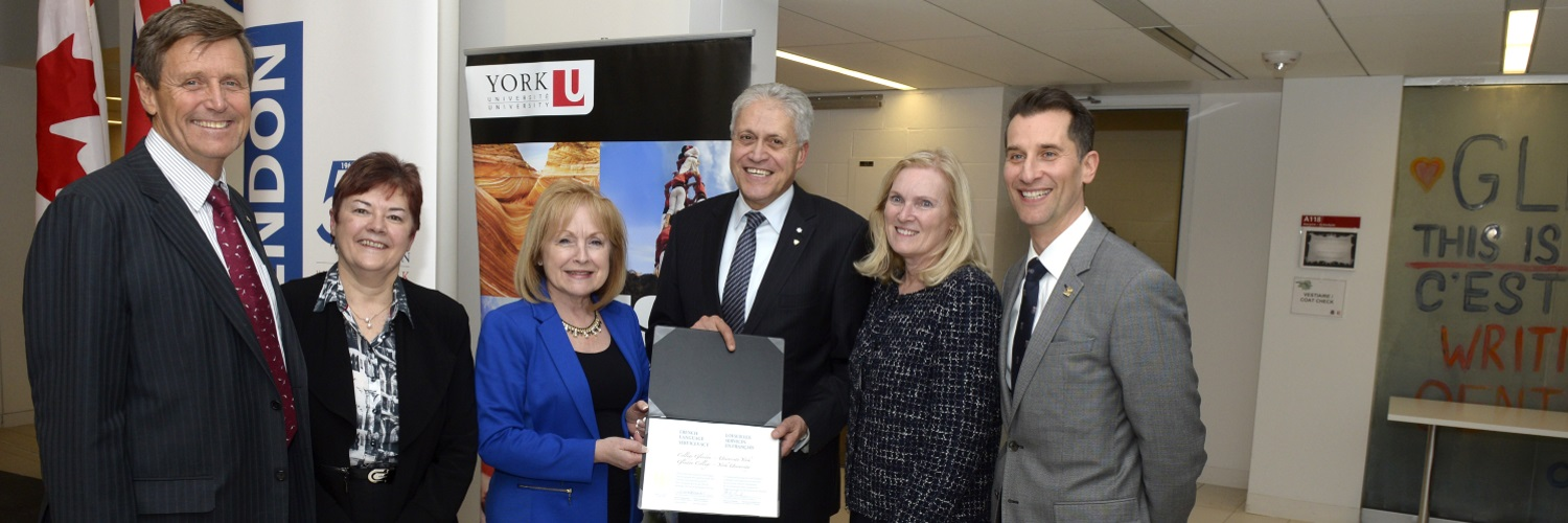 Ontario government designates York U's Glendon Campus a French-language service provider