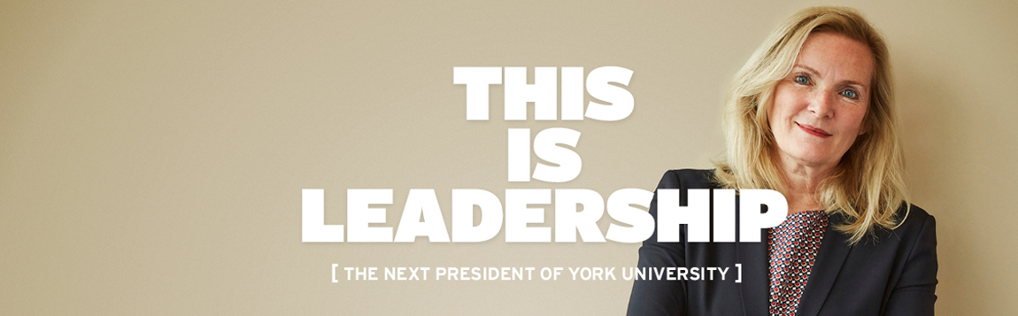 Rhonda Lenton appointed York's 8th President & Vice-Chancellor