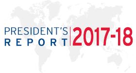 President's Report 2017-18