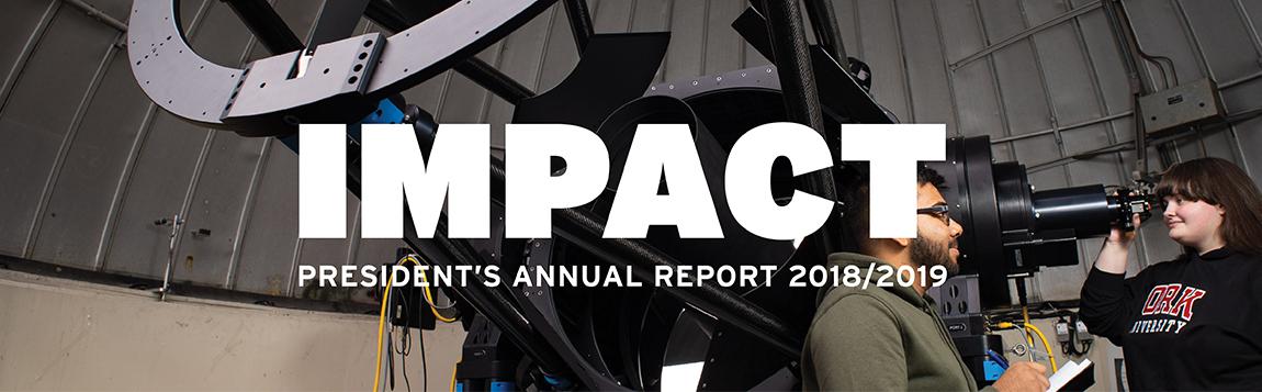 President's Report 2018-19