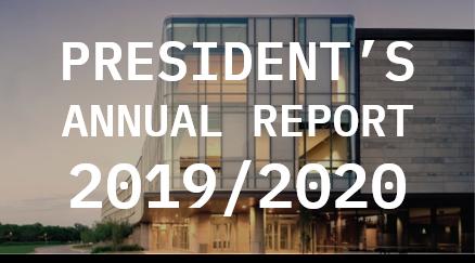President's Report 2019-20