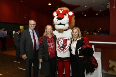 York community with York Lion mascot