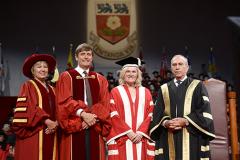 Lesley Beagrie, Rick Waugh, York U President Rhonda L. Lenton, Gregory Sorbara