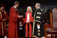 Rick Waugh, York U President Rhonda L. Lenton, Gregory Sorbara