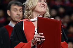 York U President Rhonda L. Lenton at Installation Ceremony